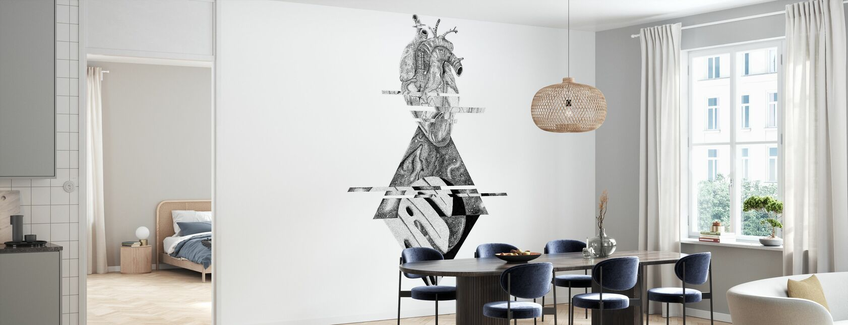 Interrupted Universe III - Wallpaper - Kitchen