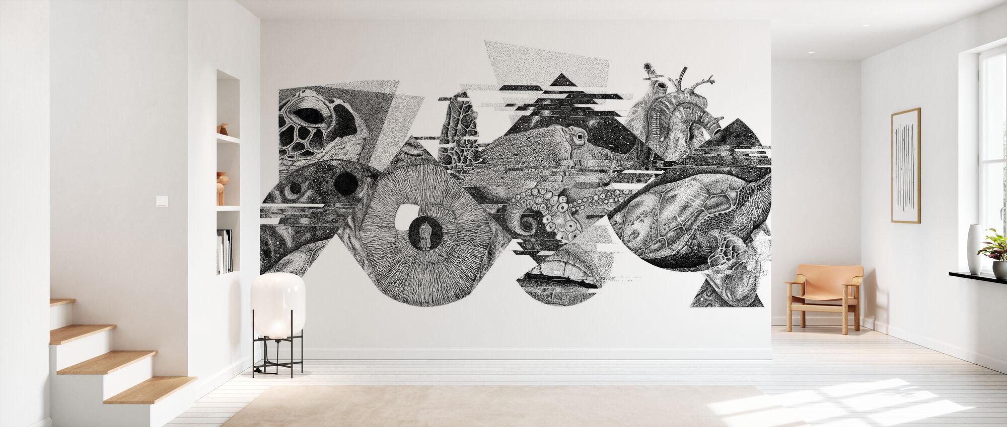 Interrupted Universe V - Wallpaper - Hallway