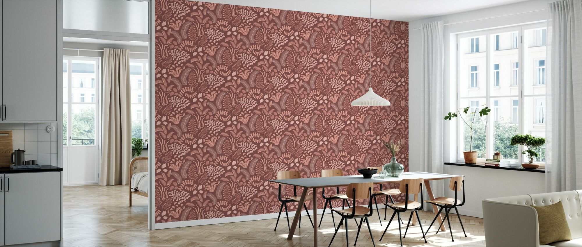 Sonja Pink - Wallpaper - Kitchen