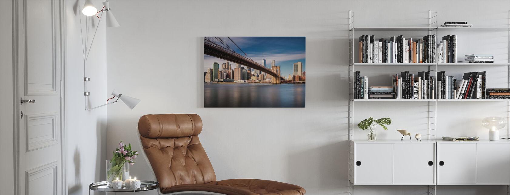 Keskustan silta - Canvastaulu - Olohuone