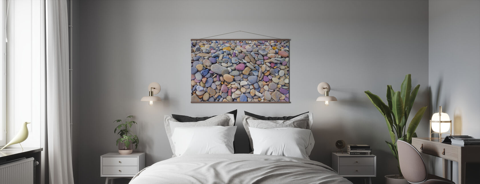Colourful Pebbles - Poster - Bedroom