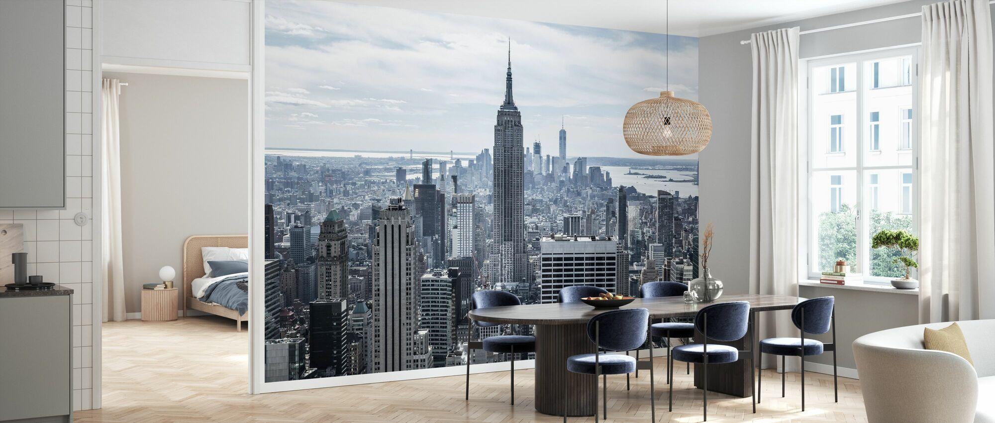 Empire State Building - Tapete - Küchen