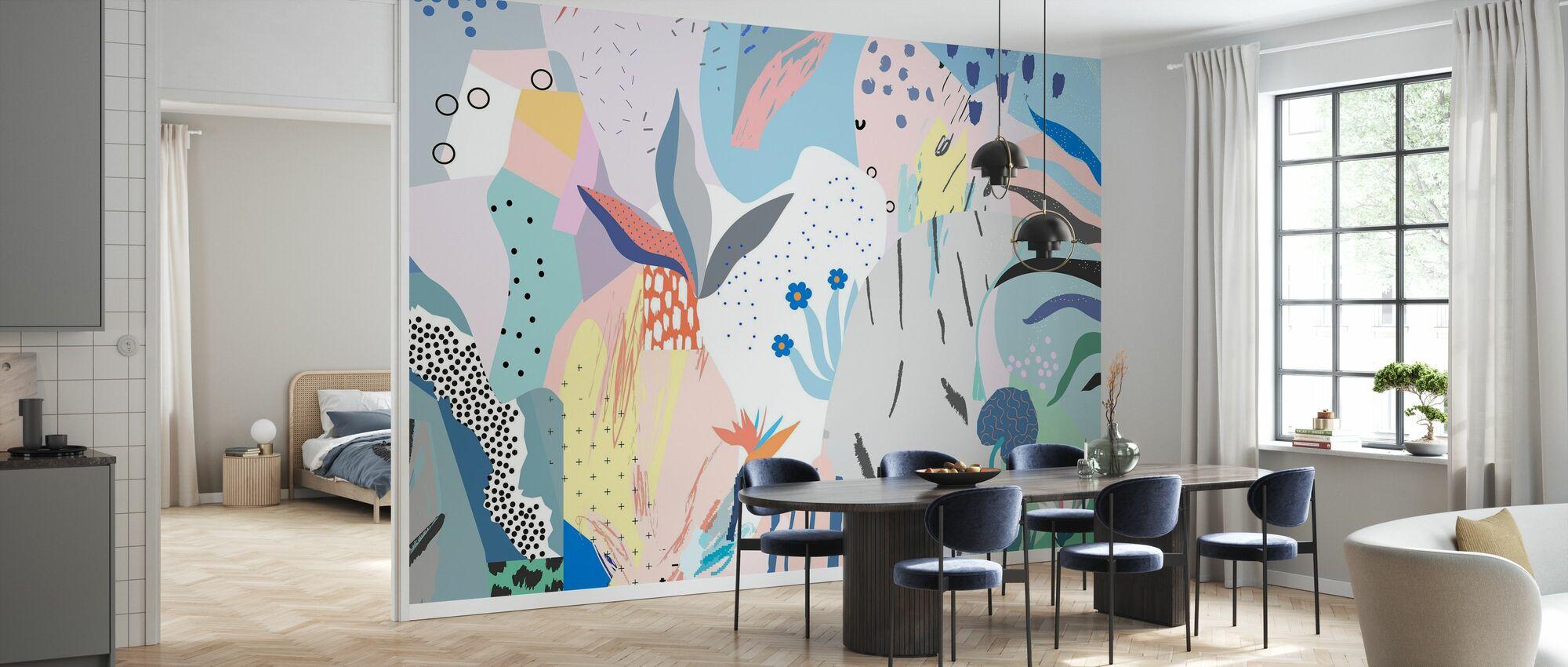 Flowery - Wallpaper - Kitchen