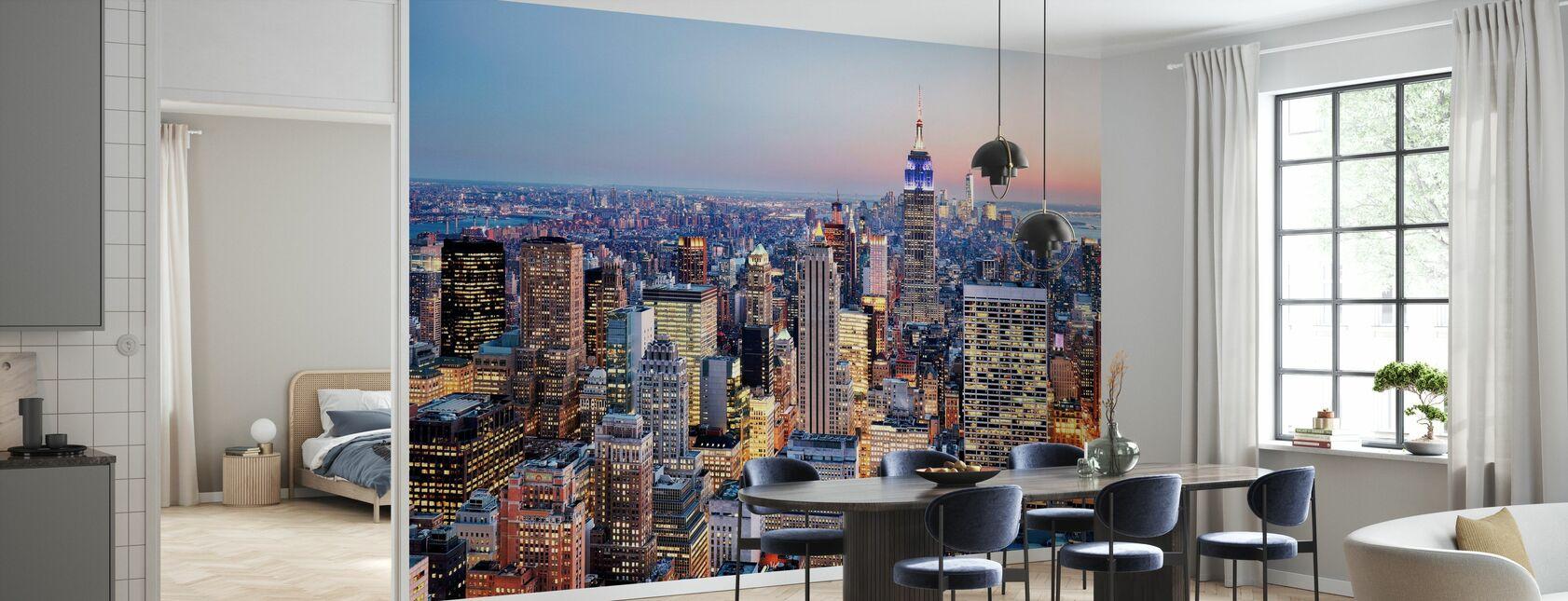 New York - Carta da parati - Cucina