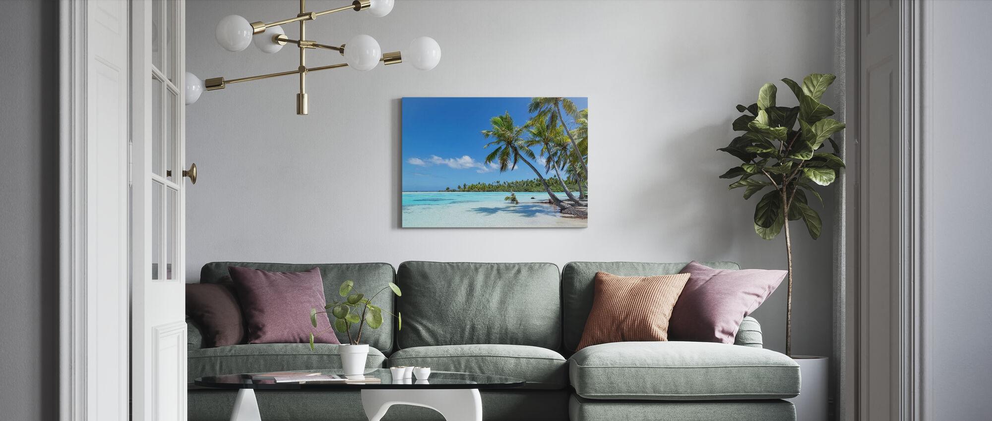 Teahatea Fakarava France - Canvas print - Living Room