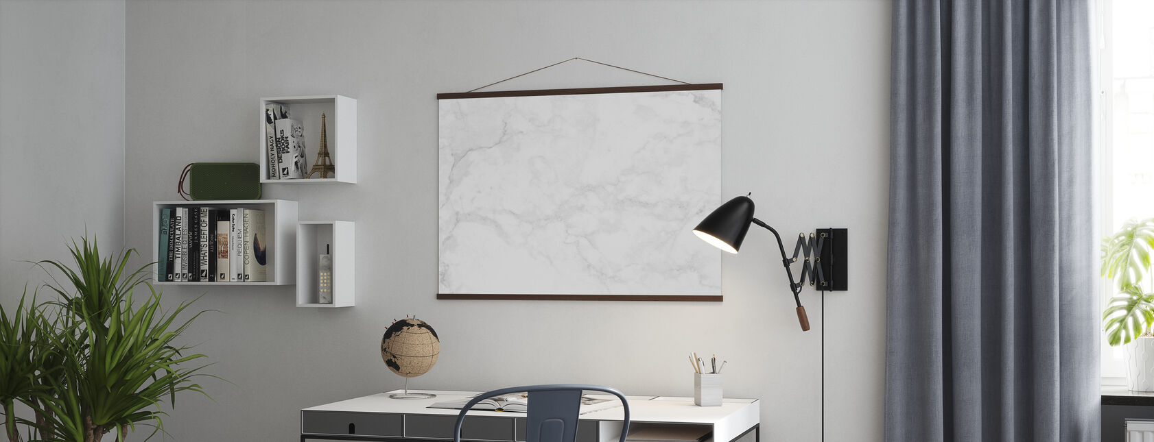 White Marble - Poster - Office