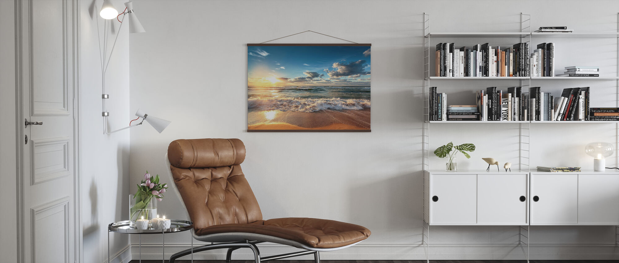 Cloudscape over the Sea - Poster - Living Room