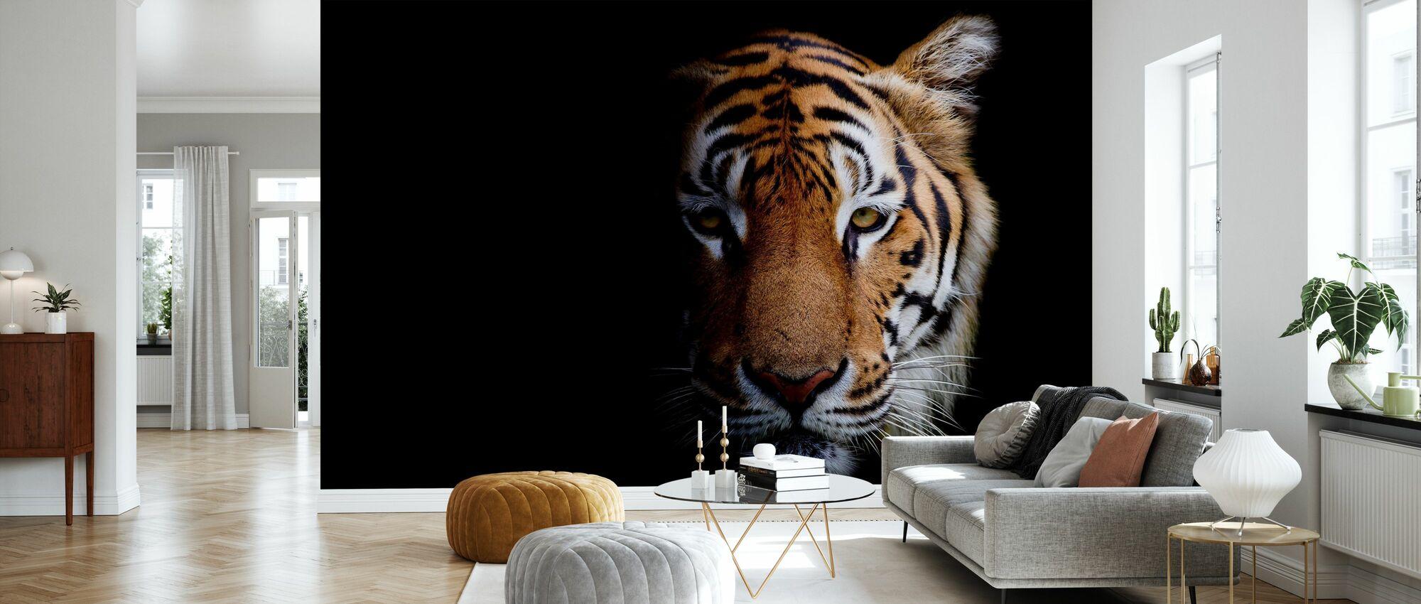 Tiger - Wallpaper - Living Room
