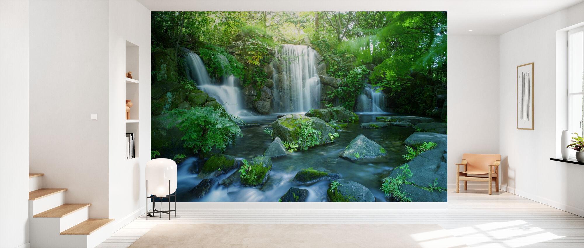 Waterfall in Tokyo - Wallpaper - Hallway