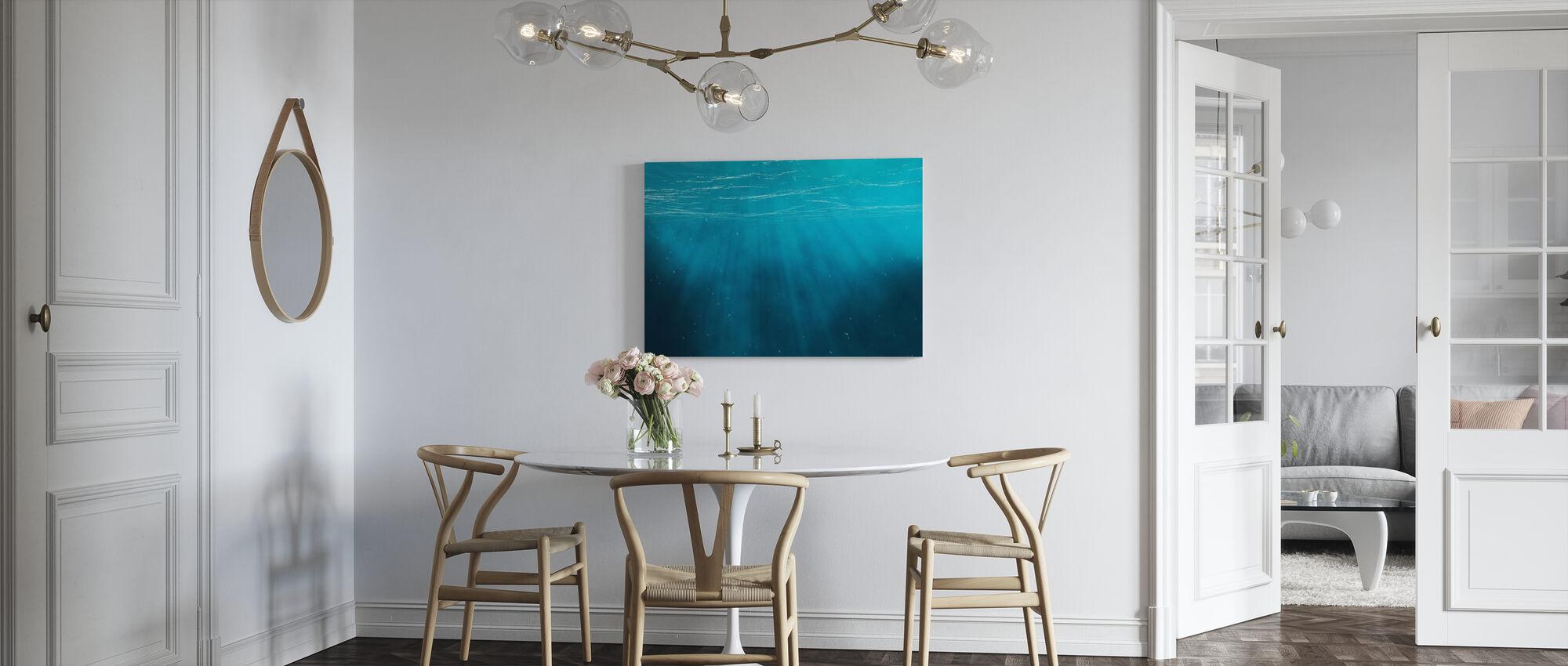 Undervattens - Canvastavla - Kök