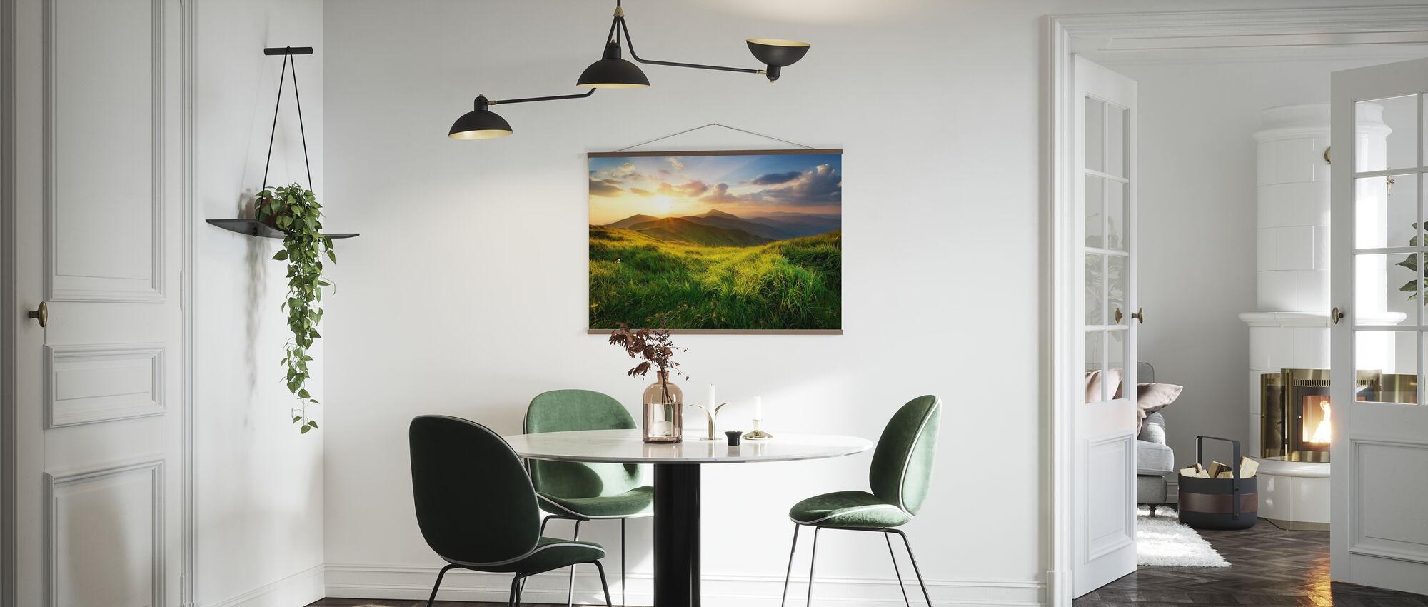 Dramatic Landscape - Poster - Kitchen