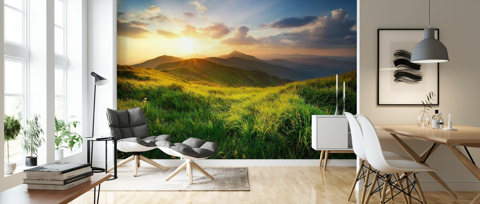 Dramatic Landscape - Wallpaper - Living Room