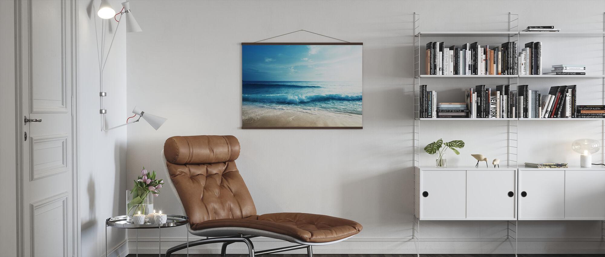 Seychelles Beach - Poster - Living Room