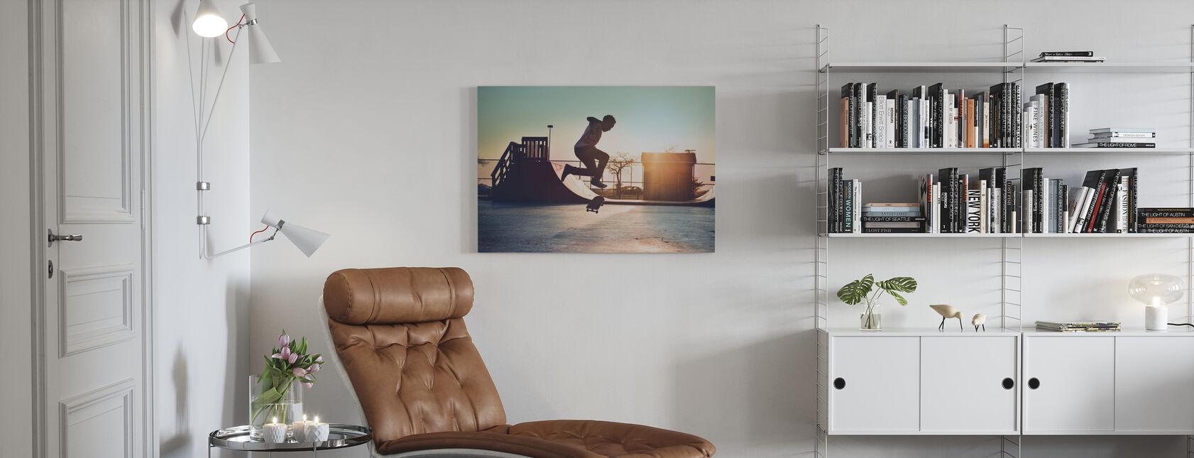 Kickflip - Canvas print - Living Room