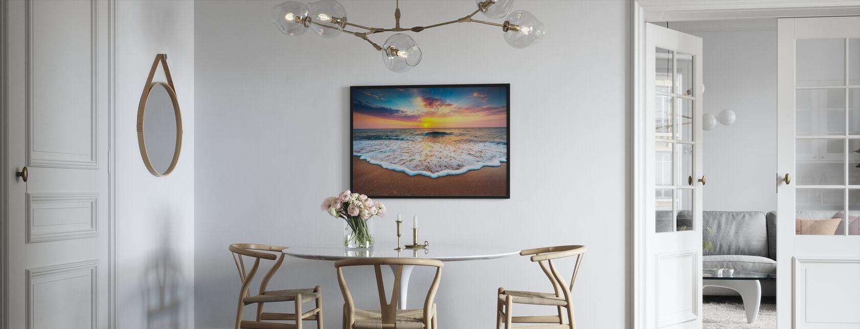 Sunrise and Dreams - Framed print - Kitchen