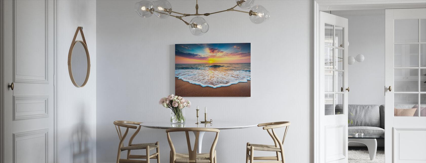 Sunrise and Dreams - Canvas print - Kitchen