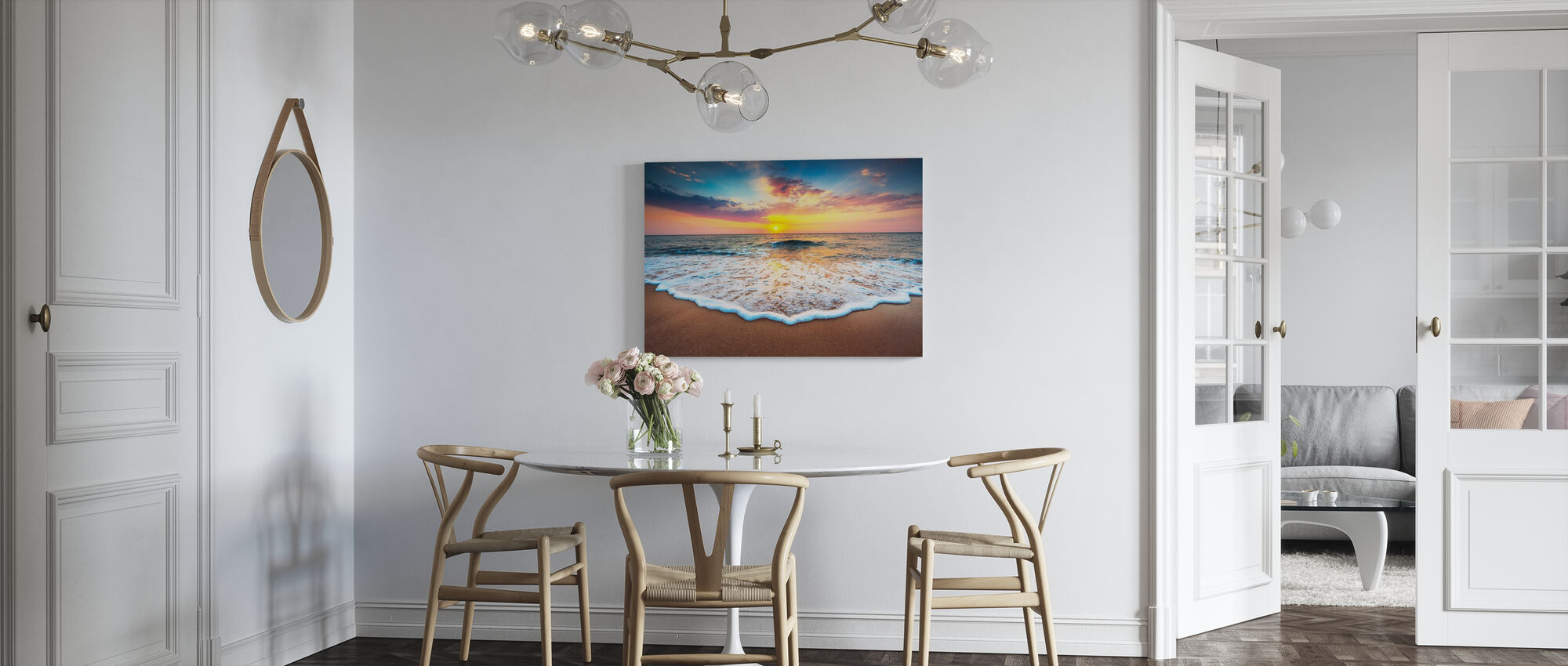 Sunrise and Dreams - Canvas print - Kitchen