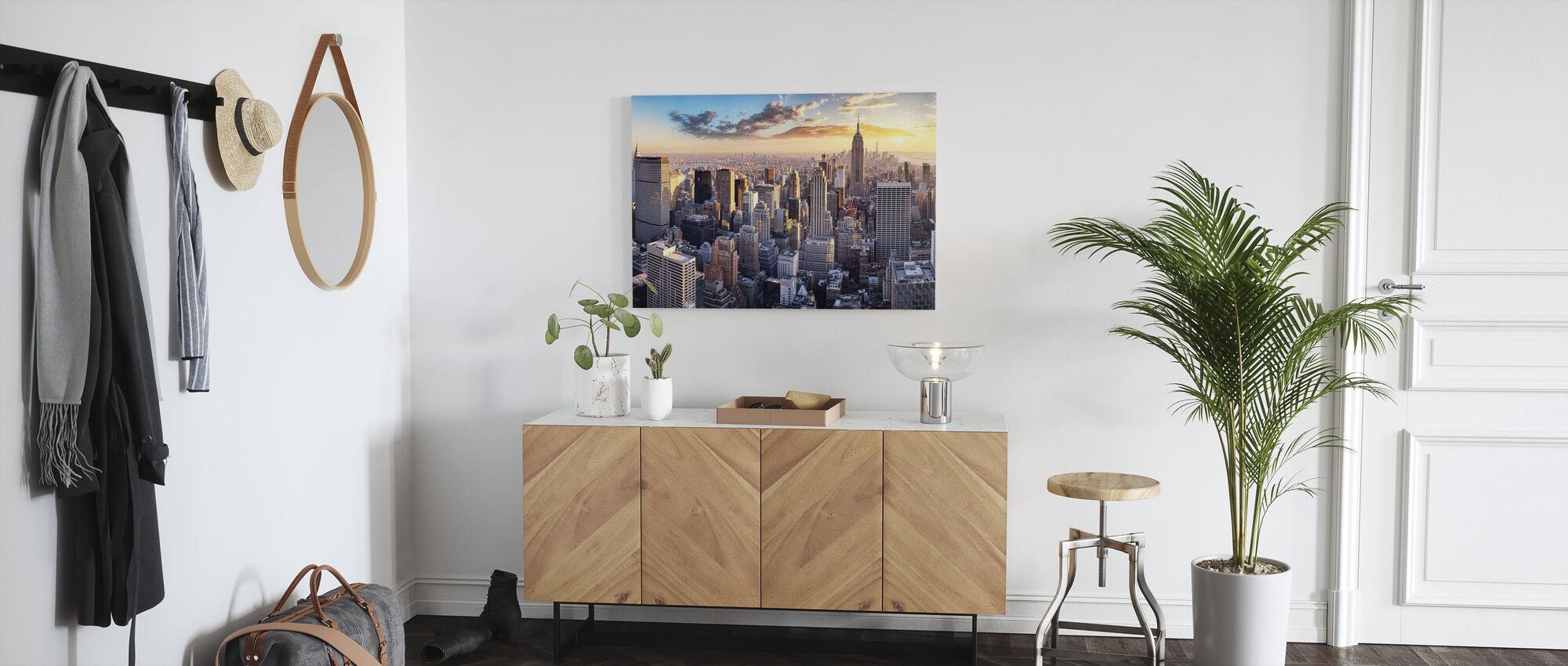 New York Skyline - Lerretsbilde - Gang