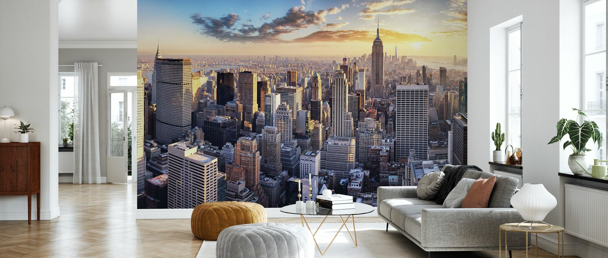 New York Skyline - Wallpaper - Living Room