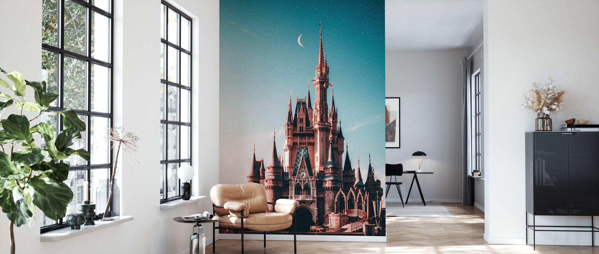 Beautiful Castle - Wallpaper - Living Room
