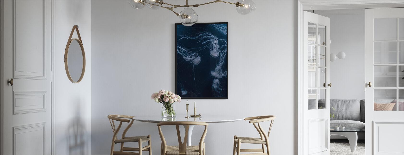 White Jellyfish - Poster - Kitchen