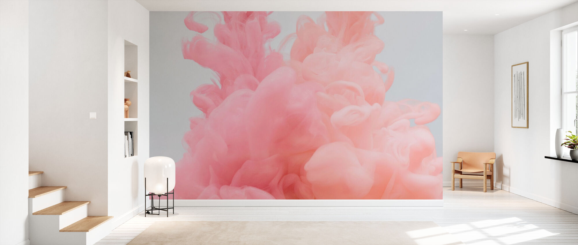 Peony Blossom - Wallpaper - Hallway
