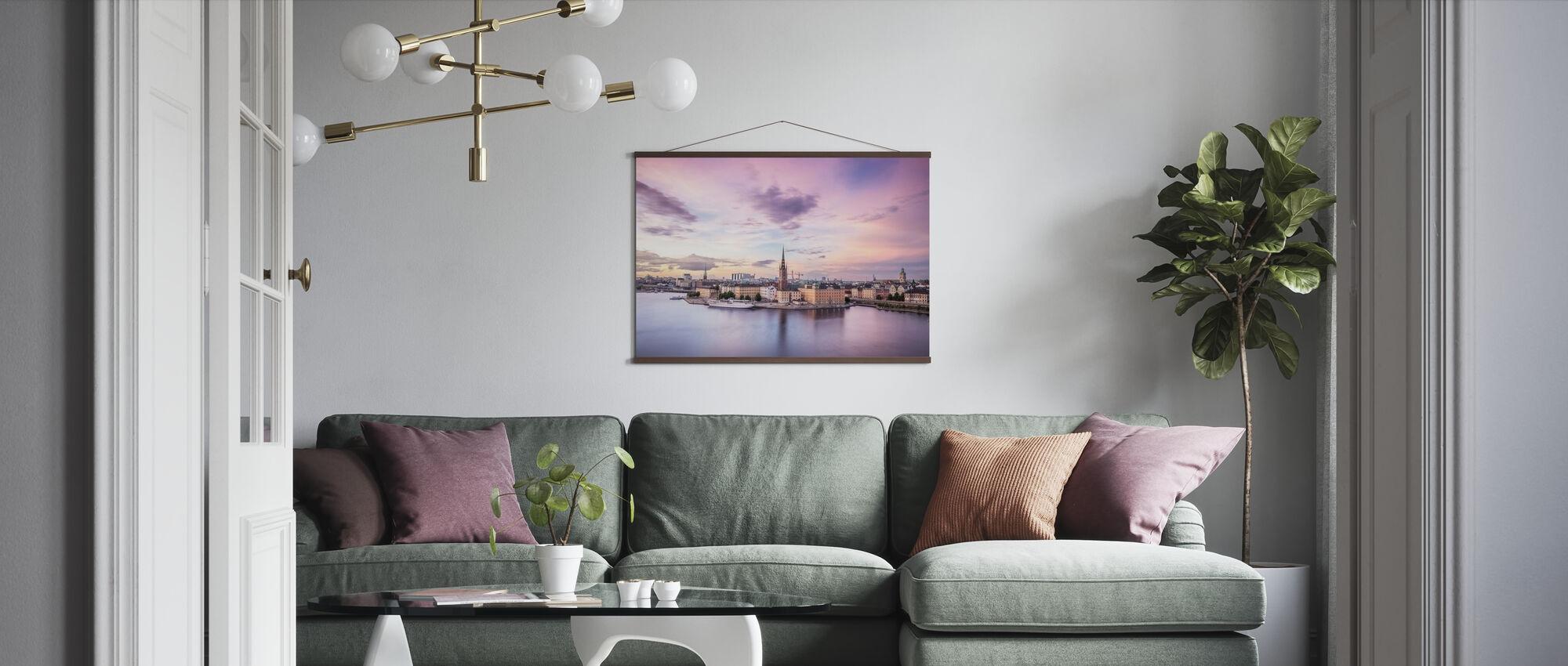 Stockholm Overview - Poster - Living Room