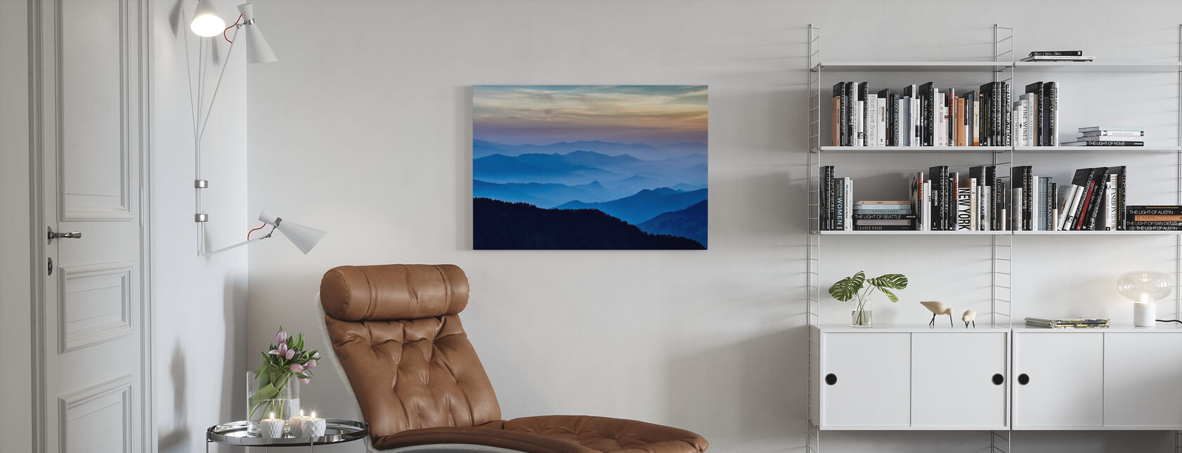 Rhythm of the Mountains - Canvas print - Living Room