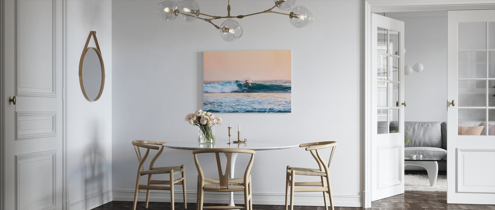 Surfing - Canvas print - Kitchen