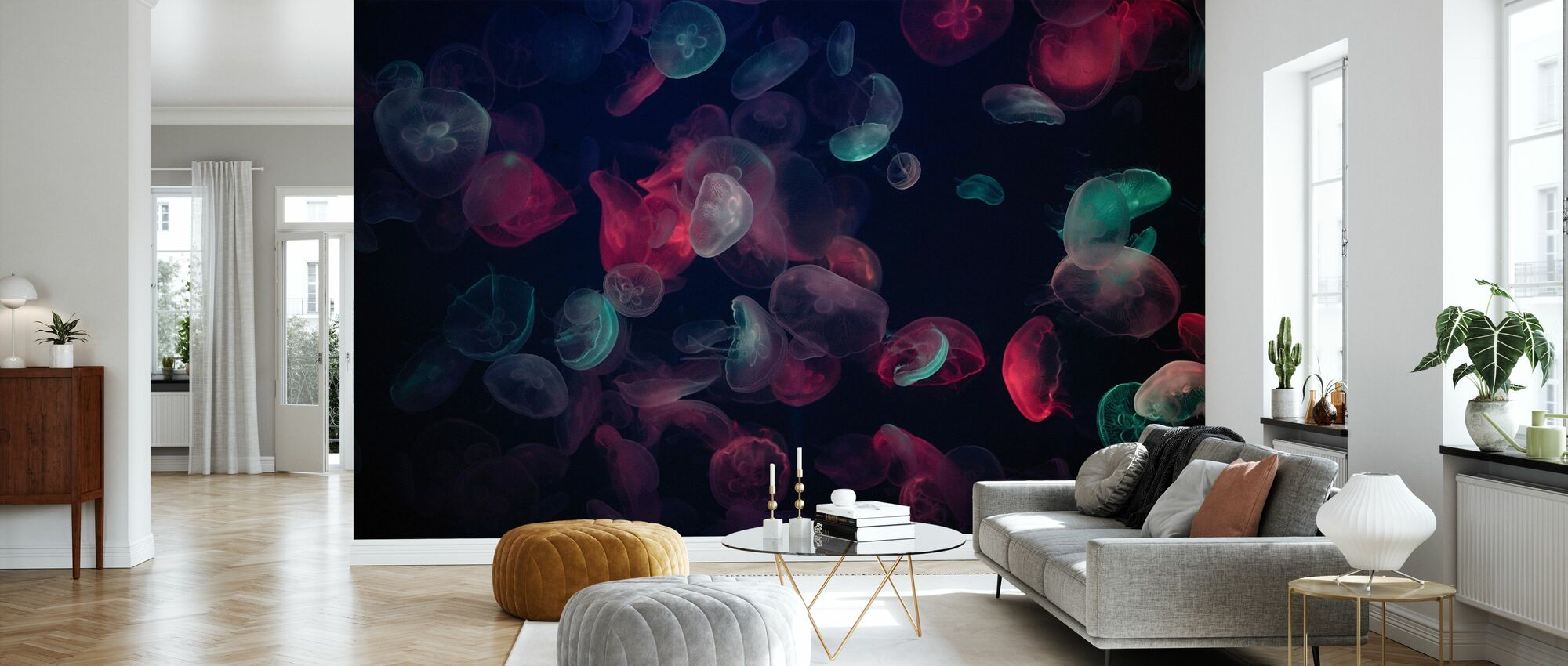 Jellyfish - Wallpaper - Living Room