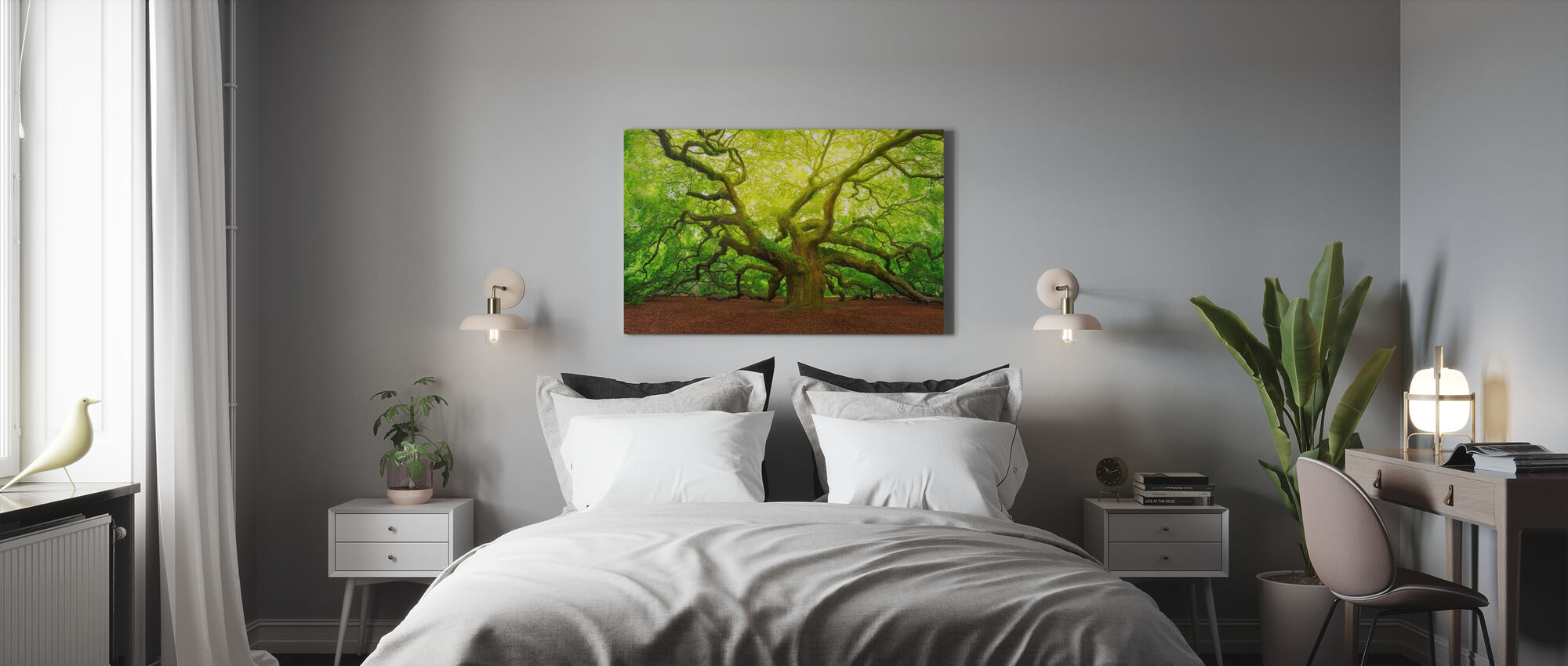 Angel Oak - Canvas print - Bedroom