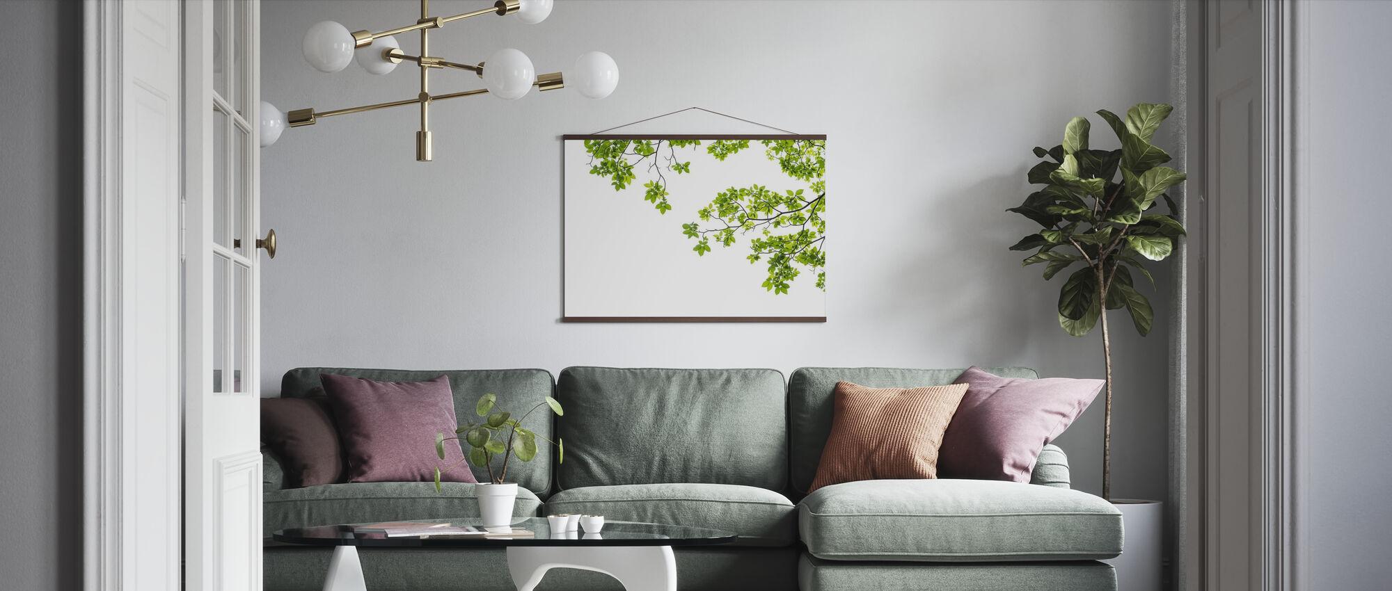 Tre gren - Plakat - Stue