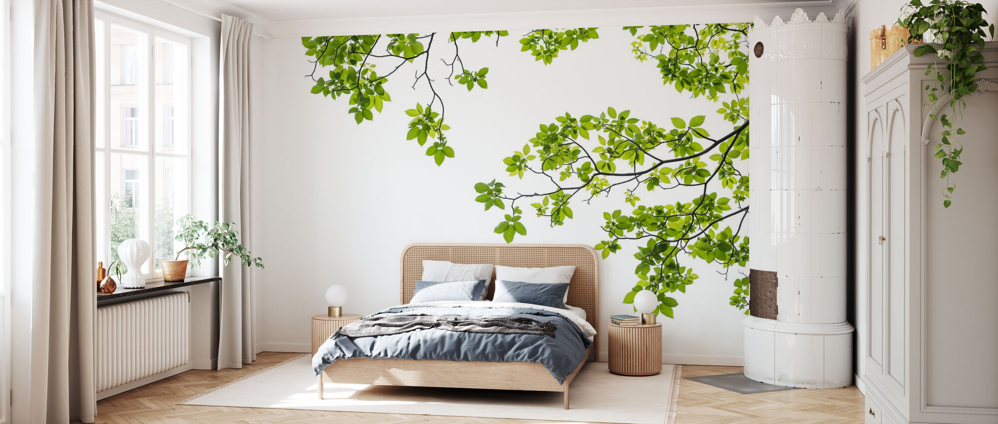 Tree Branch - Wallpaper - Bedroom