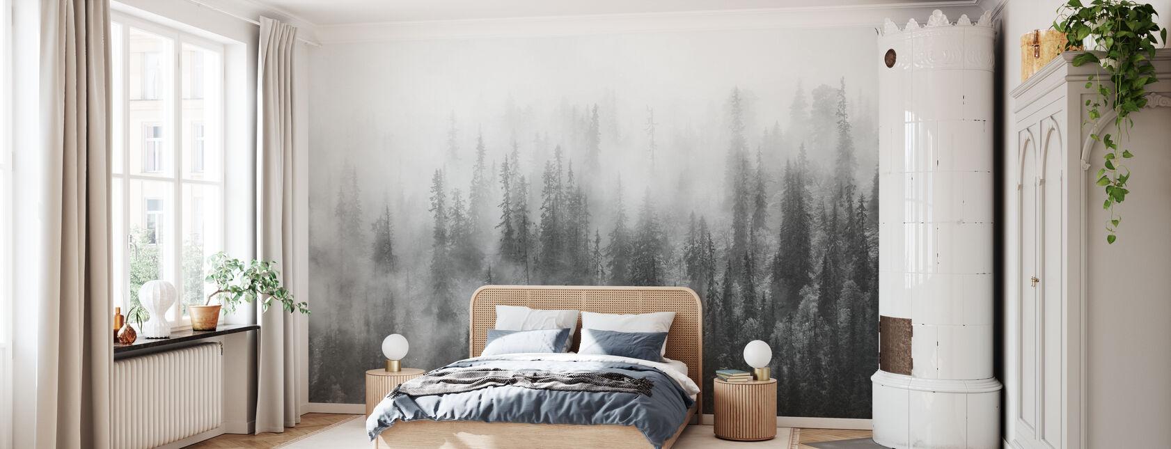 Skog i dimma - Tapet - Sovrum