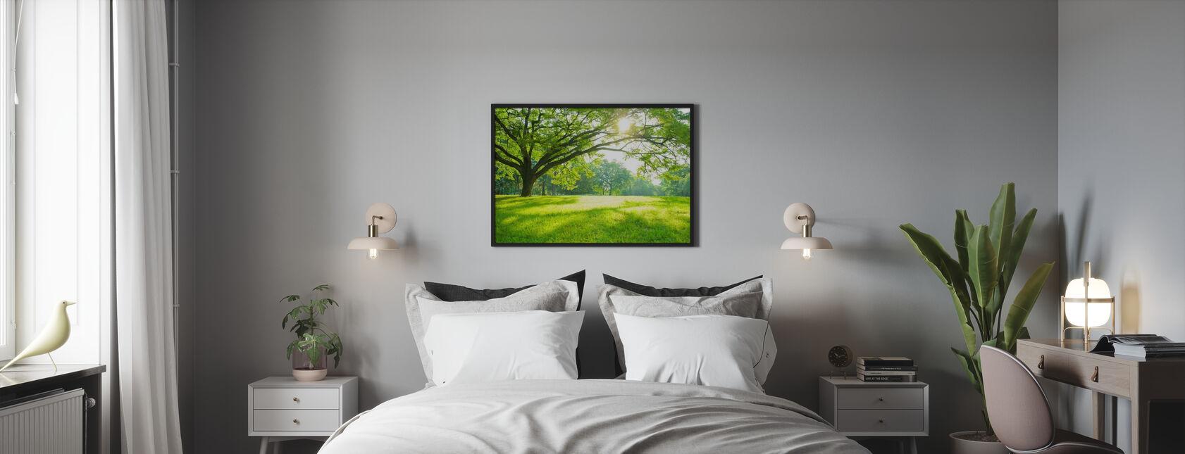 Parque de verano - Póster - Dormitorio