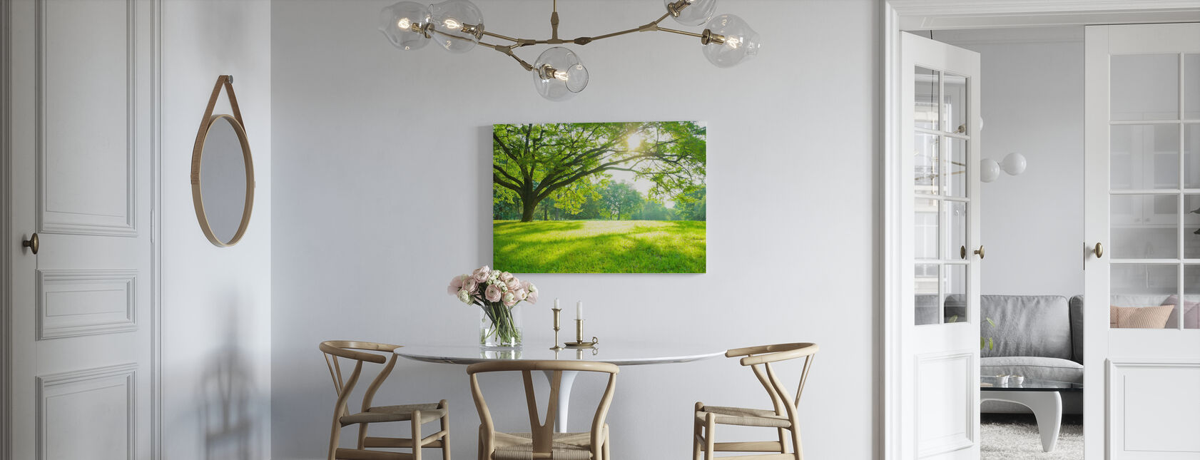 Summer Park - Canvas print - Kitchen