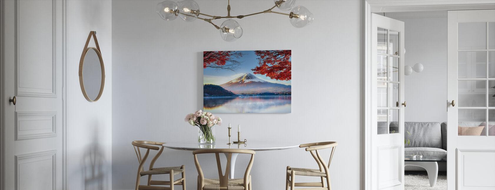 Fuji-berg in de herfst - Canvas print - Keuken