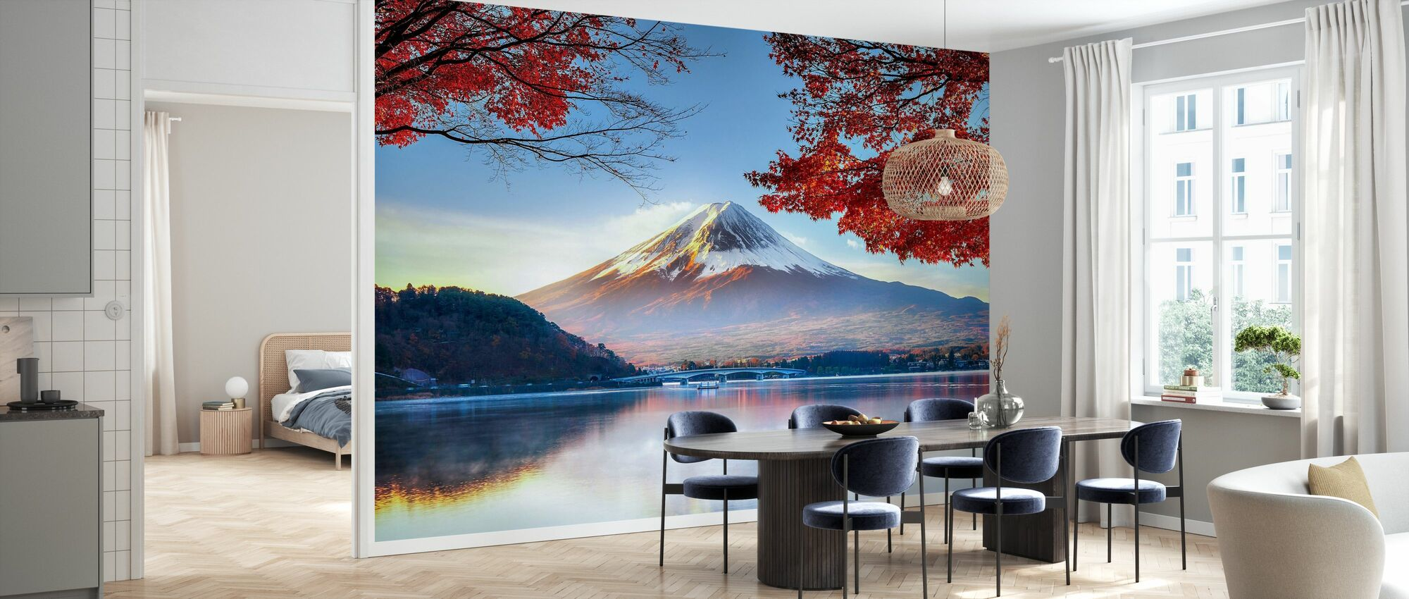 Fuji Mountain in Autumn - Wallpaper - Kitchen