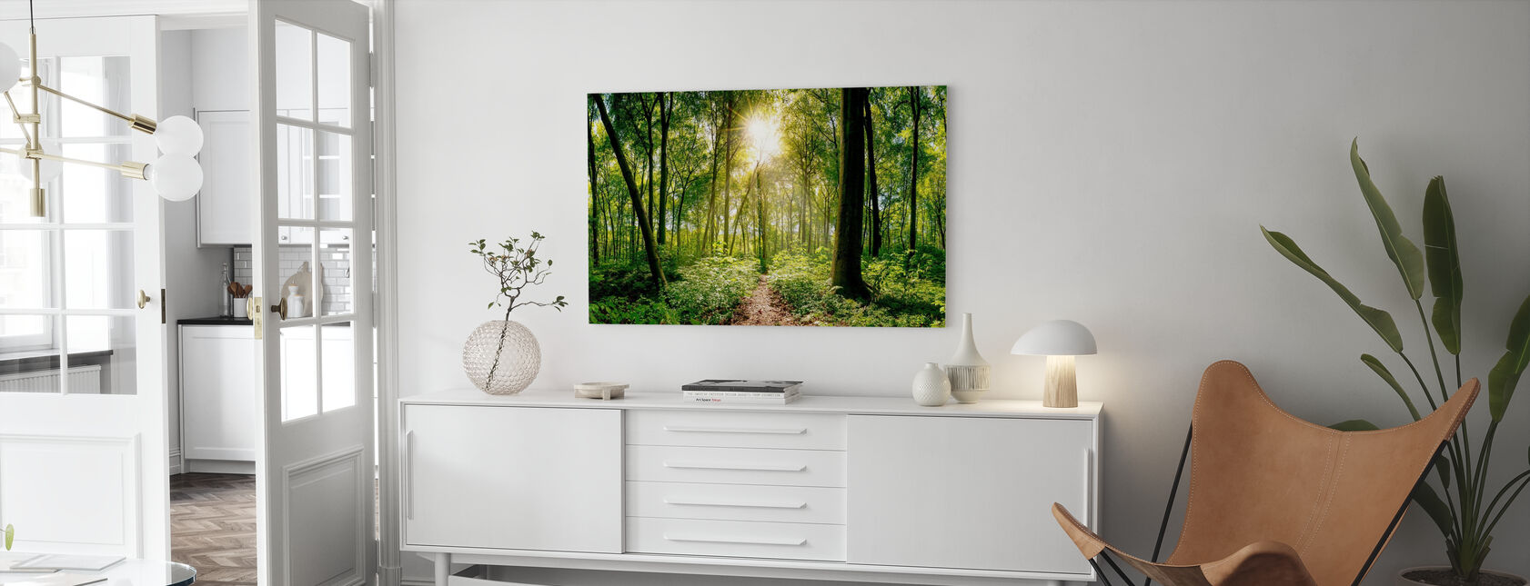 Forest - Canvas print - Living Room