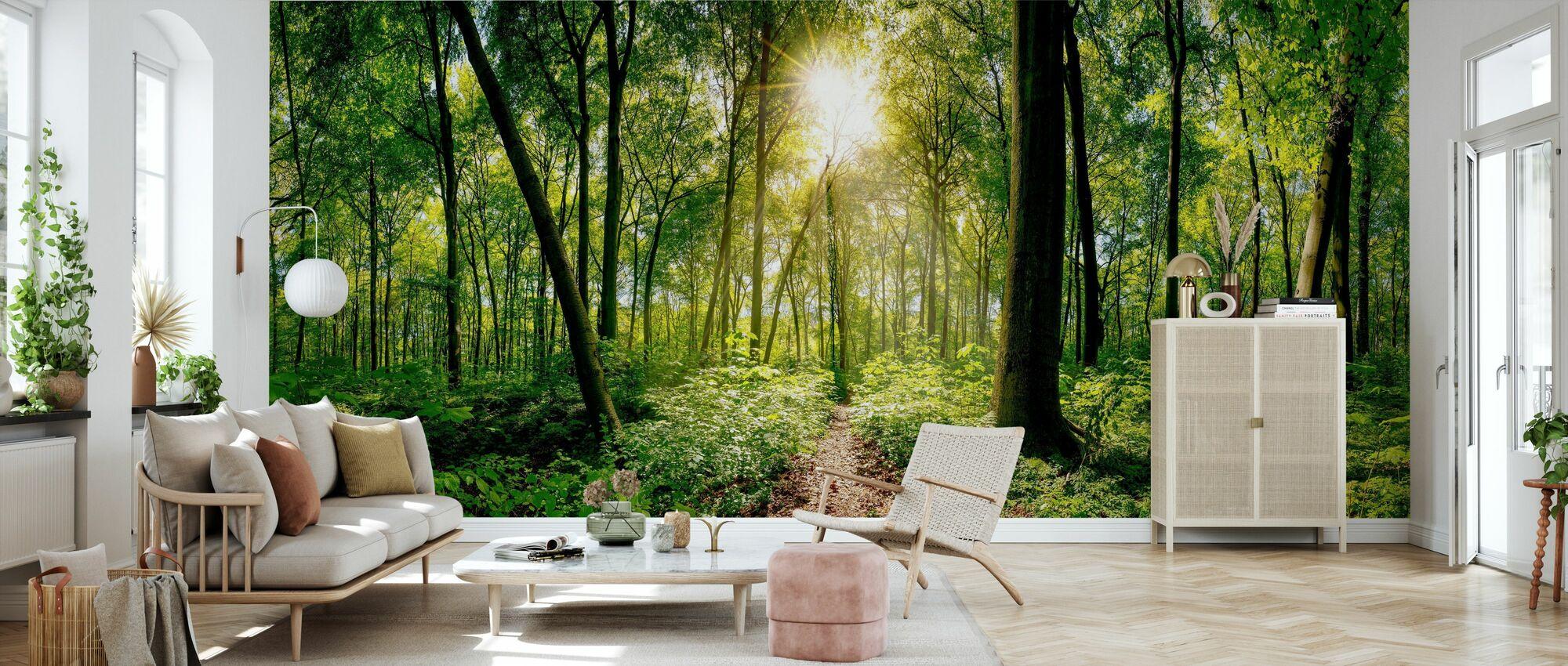 Skog - Tapet - Vardagsrum