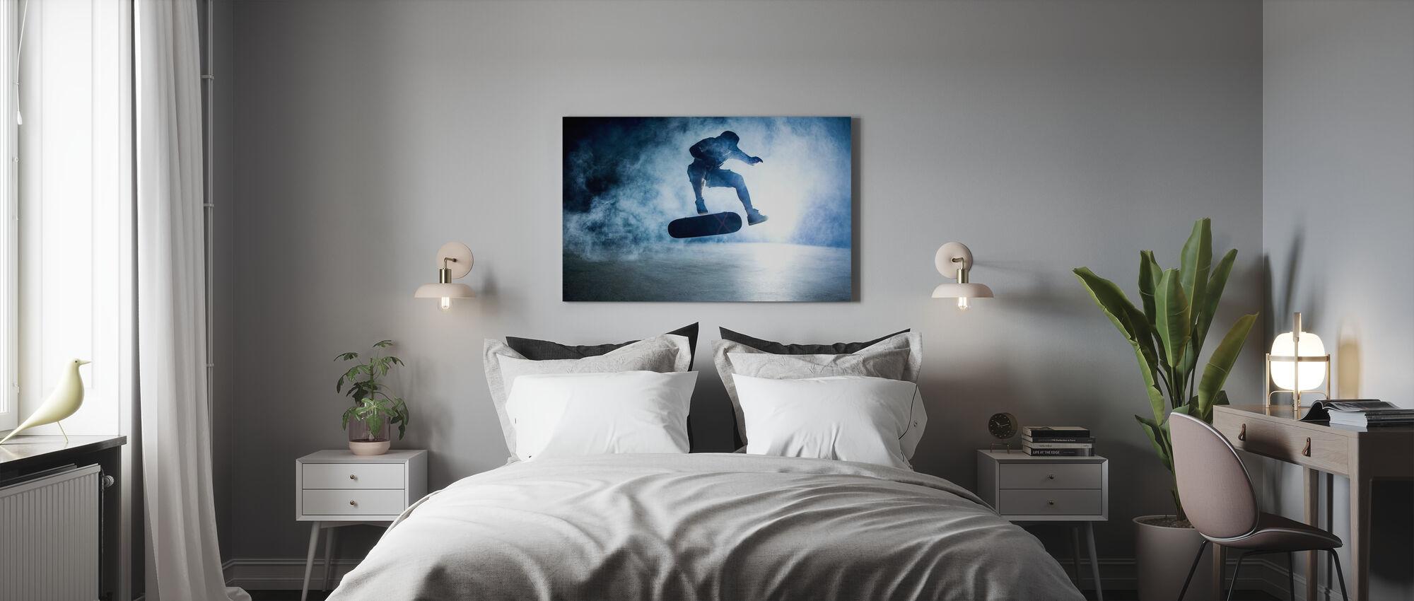 Skateboard Trick - Impression sur toile - Chambre