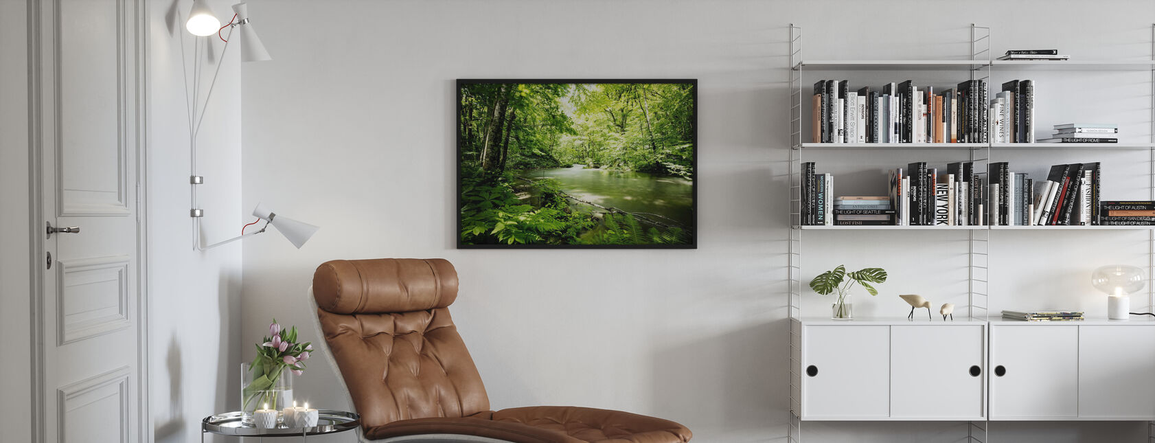 Tief in den Wald - Poster - Wohnzimmer