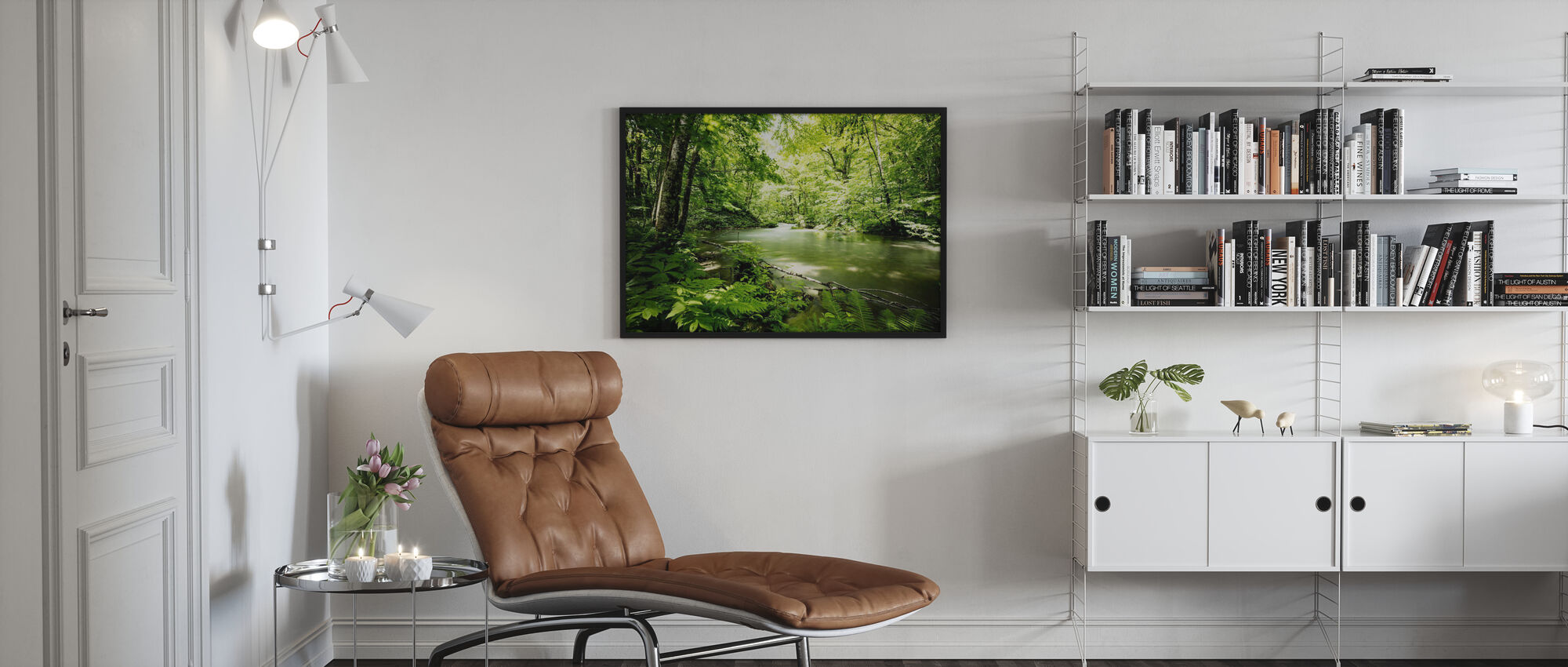 Deep into the Forest - Poster - Living Room