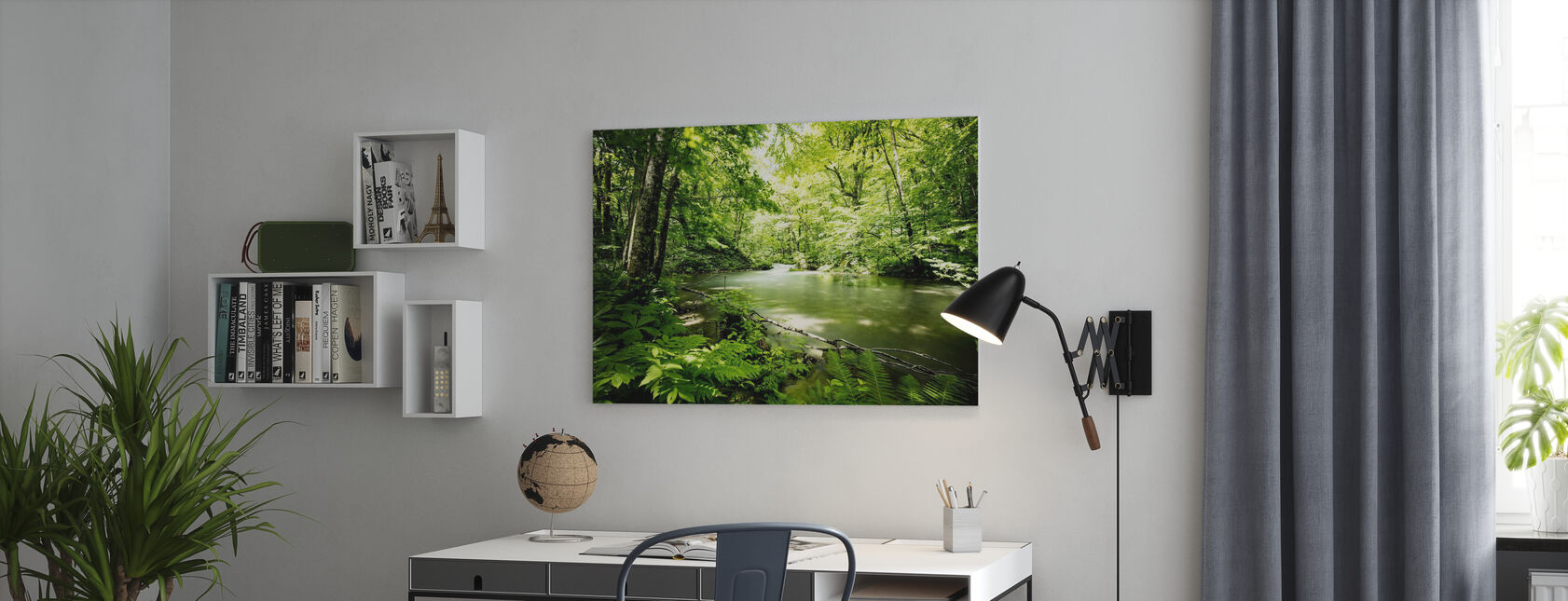 Deep into the Forest - Canvas print - Office