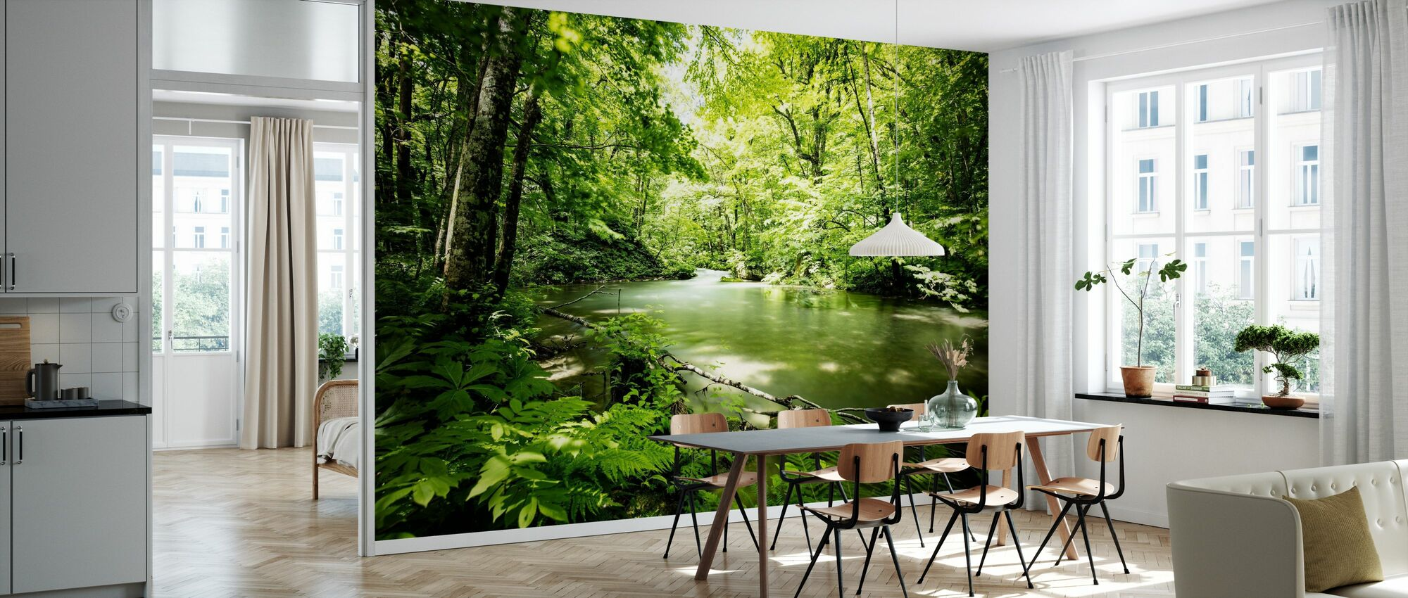 Deep into the Forest - Wallpaper - Kitchen
