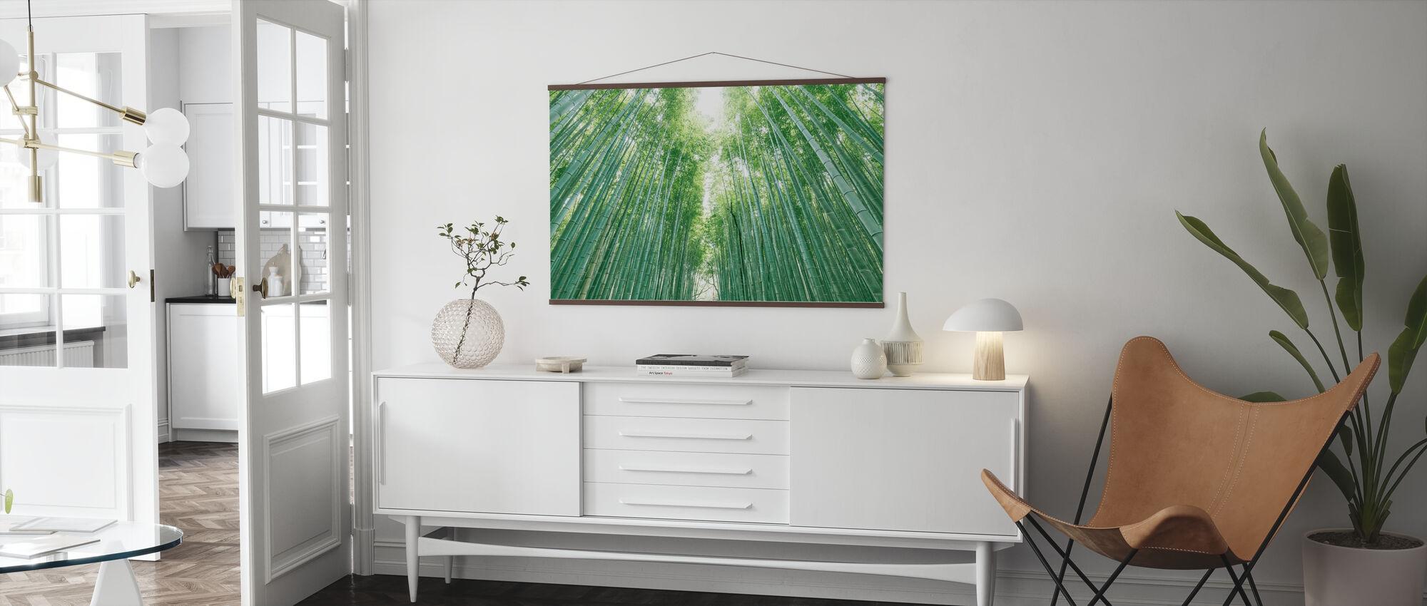 Bambus skog - Plakat - Stue