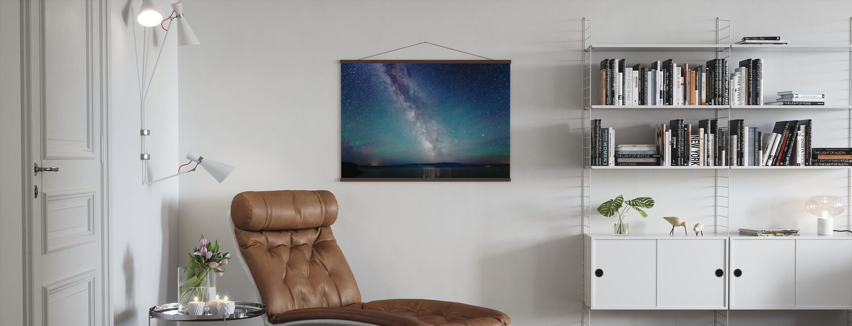 Milky Way Night Sky - Poster - Living Room