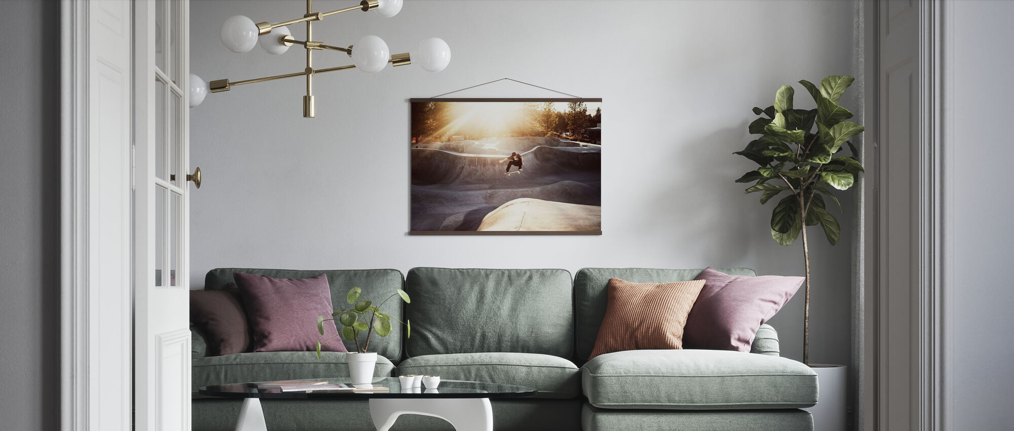 Skateboard Park - Poster - Living Room