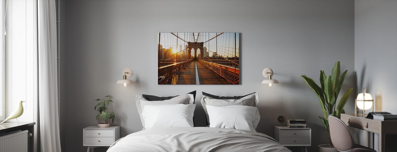 Brooklyn Bridge - Canvas print - Slaapkamer
