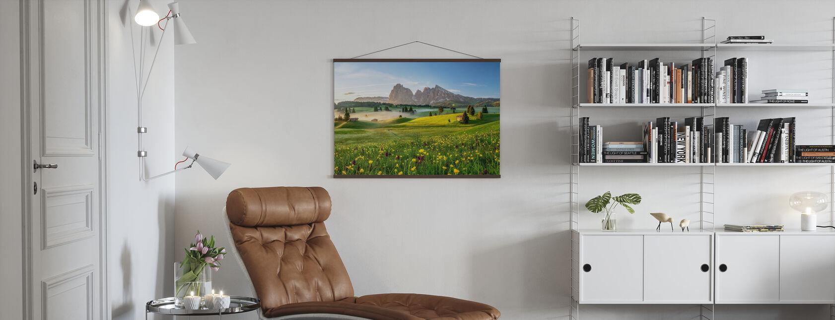 Seiser Alm - Poster - Wohnzimmer